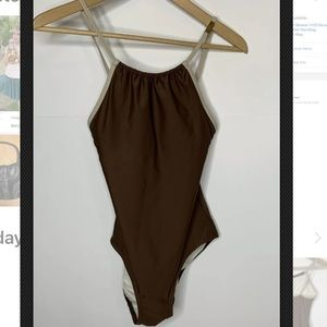 Michael Kors Women's Bathing Suit Size 4 Brown
